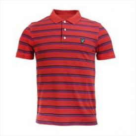 Lyle & Scott Striped Polo Shirt