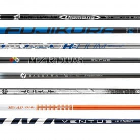 Shop Soiled Golf Shafts