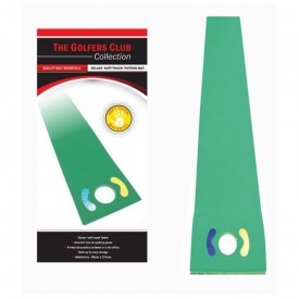 The Golfers Club Deluxe Putting Mat