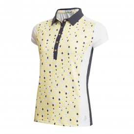 Green Lamb Eileen Printed Sleeve Polo Shirt