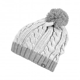 adidas Womens Two Toned Pom Beanies