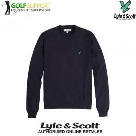 Lyle & Scott Crew Neck Cotton Sweater