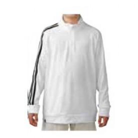adidas Junior 3-Stripe 1/4 Zip Pullovers