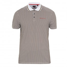 Ted Baker Golf Erine Hexagon Geo Polo Shirt
