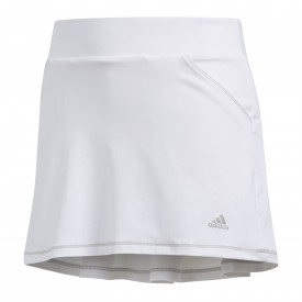 adidas Junior Girls Solid Back Pleat Skirt