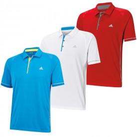 Adidas Climachill Shoulder Print Polos