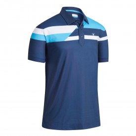 Callaway X Stacked Block Polo Shirts