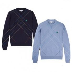 Lyle & Scott Raker Argyle Sweaters