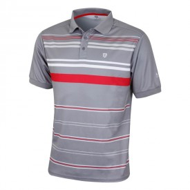 Island Green Sublimated Stripe Polos