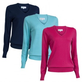 Backtee Ladies Solid Pullovers