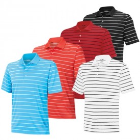 Adidas Two-Colour Stripe Polos