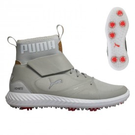 Puma Ignite PWRAdapt Hi-Top Junior Golf Shoes