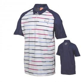 Puma GT Print Stripe Polos