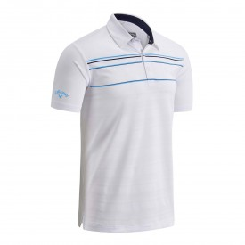 Callaway Engineered Chest Stripe Polo