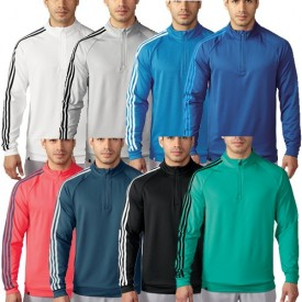 Adidas 3 Stripes 1/4 Zip