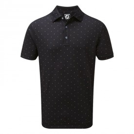 Footjoy Smooth Pique Square Print Polo
