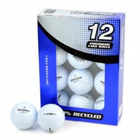 Second Chance Bridgestone Mix Of Recycled Golf Balls