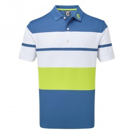 Footjoy Colour Block Smooth Pique Polo