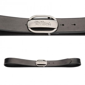 Oscar Jacobson Logo Buckle Belts