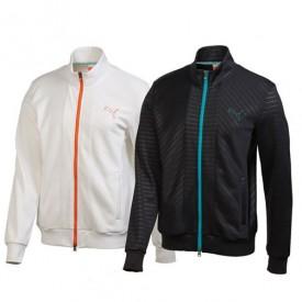 Puma Golf Knit Stripe Jacket