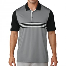adidas Ultimate 365 3-Stripes Engineered Polo Shirts