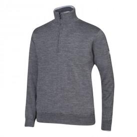 Oscar Jacobson Iwan Pin Half-zip Sweaters