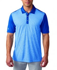 Adidas Climachill Heather Stripe Polo Shirts