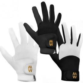 MacWet Short Cuff Warmer Micromesh Golf Gloves (Pair)