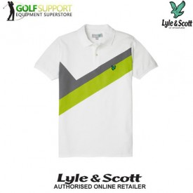 Lyle & Scott Colour Block Polos